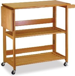 Cheap Foldable Kitchen Cart (B001G2XIP0)