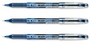 Pilot P700 - Bolígrafo de gel (punta de 0,7mm, trazo de 0,5 mm), color azul