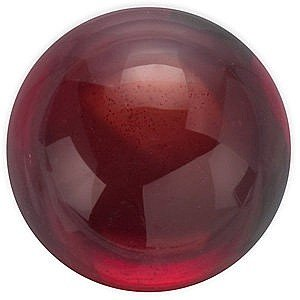 Round Shape Cabochon Mozambique Garnet Loose Gemstone, Quality Grade, AAA 5.00 mm