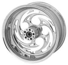 RC Components Forged Aluminum Wheels - Rear / 17x6.25 / Savage , Material: Aluminum 0317625-HO09395C-85C