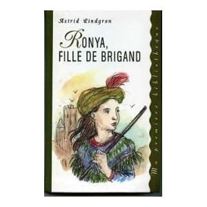 Ronya, fille de brigand (Ma première bibliothèque)