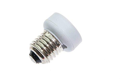 Shangge Ce&Rohs Certification 5 Pcs E27 To Gu24 A-Model Led Bulb Base Converter Halogen Cfl Light Lamp Adapter Socket Change Pbt