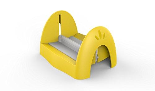 BIESSE CASA, in polipropilene e polistirolo porta tovaglioli di carta, colore: giallo