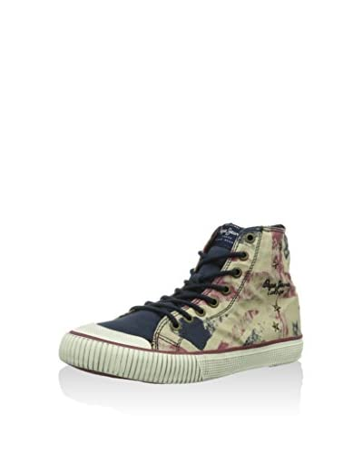 Pepe Jeans London Zapatillas abotinadas Industry Boot Two Azul