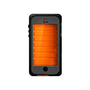 OtterBox Armor Series Waterproof Case for iPhone 5 - Retail Packaging - Orange