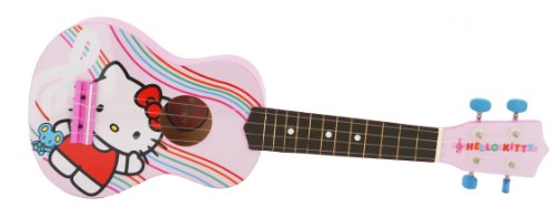 Hello Kitty 21-Inch Acustic Guitar - Pink (86099)