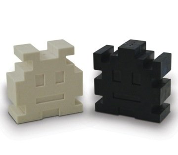 Space Invaders Salt & Pepper Shakers