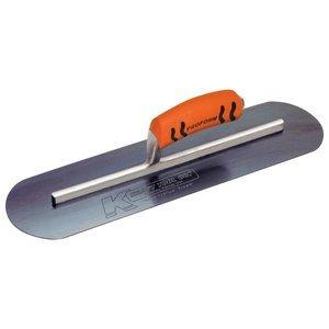 Kraft Tool CF745BPF Blue Steel Pool Trowel with ProForm Handle L-Shank, 24 x 4-Inch (Tamaño: 24 x 4-Inch)