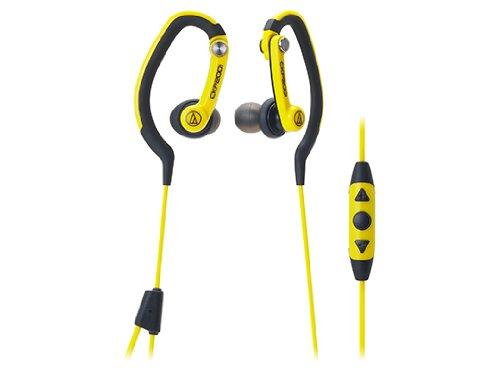 audio-technica カナル型イヤホン iPod/iPhone/iPad専用 防水仕様 スポーツ向け イエロー ATH-CKP200i YL