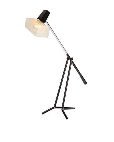 Nuevo Living Penny 1-Light Floor Lamp, Black