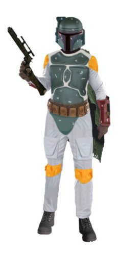 Adult Deluxe Boba Fett Xl Adult Mens Costume - Rubies Co. Inc.