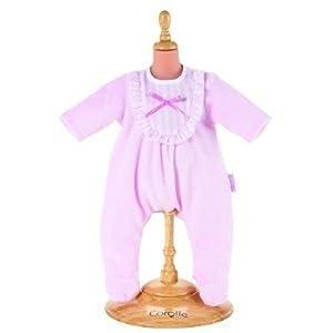 Corolle - V5739 - Vêtement Poupon 42cm - Mon Classique Corolle - Pyjama Rose