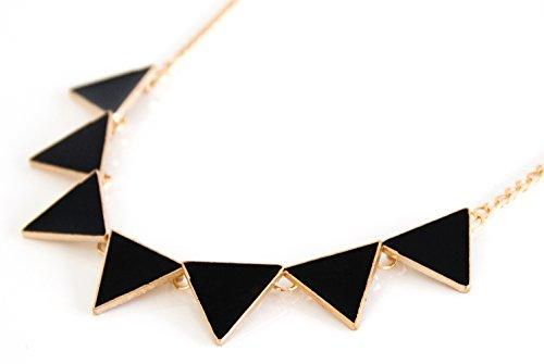 Statement-Halsketten-Sommer-Kette-Modeschmuck-Perlen-Kette-XXL-Collier-NEU