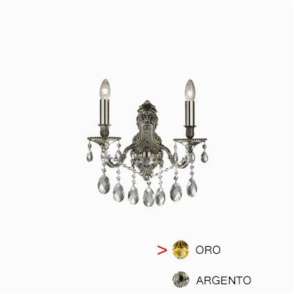 Luminaire applique Ideal Lux GIOCONDA AP2 ORO