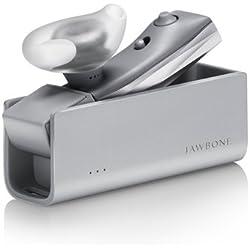 Jawbone Era - Auriculares (Monoaural, Plata, gancho de oreja, Bluetooth, Play/pause, Micro-USB)