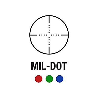 PROSUPPLIES -- AIM SPORTS® Tactical 4X32MM SCOPE WITH FIBER OPTIC Backup SIGHT AND MIL-DOT RETICLE