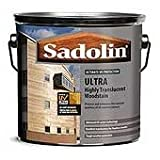 Sadolin 5 Litre Ultra Topcoat Golden Maple