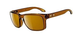 Oakley Holbrook OO9102-30 Sport Sunglasses,Dark Amber,55 mm
