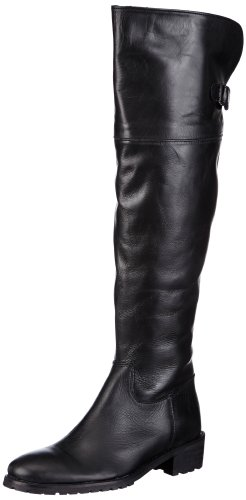 Buffalo London Womens 1291 COW SLIGHTLY MILD Boots Black Schwarz (BLACK 01) Size: 6 (39 EU)