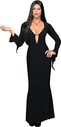 Rubies Womens Morticia Addams Family Vampire Fancy Halloween Adult Sexy Costume