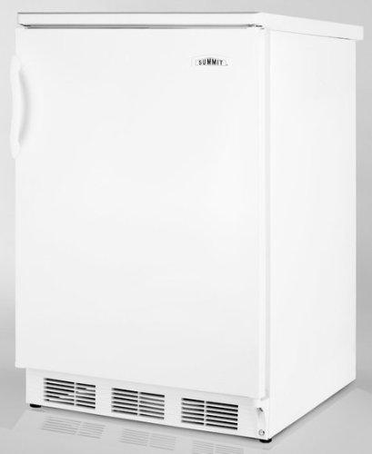 """Summit FF6BI Frost-Free Refrigerator - 24"""""""