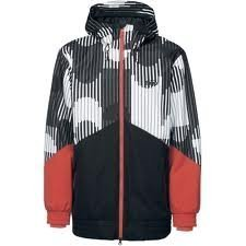 Nike 6.0 Kampai Shell Mens Ski Snowboard Jacket 424146 Medium Coat Parka Hooded