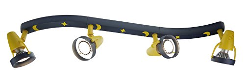 Niermann Standby 4-Bulb Lighting Strip with Spot Lights, Moon/Stars