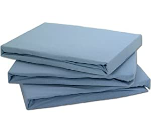 Blue Cot Bed Duvet Cover Size130 X 160cm100 Cotton