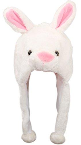 v-sol-sombrero-gorro-disfraz-cosplay-de-animal-adulto-ninos-felpa-cubierta-de-oreja-orejera-conejo