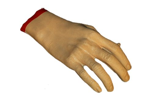 Loftus Creepy Severed Hand Halloween Decoration Prop Pink Red - 1