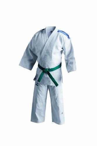 Adidas J500 Unisex Judo Uniform - White, 4/170 Cm