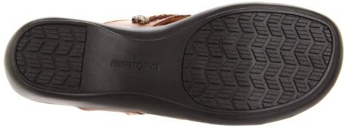 Minnetonka Women's Silverthorne Thong Sandal,Nutmeg,10 M US