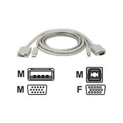 Tripp Lite P758-010 USB KVM Cable Kit for Tripp Lite KVM Switches (10 Feet)