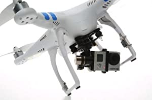 New DJI Phantom 2 with Zenmuse H3-3d 3-axis Gimbal and Gopro Hero 3+ Black Edition