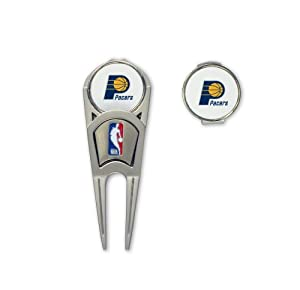NBA Indiana Pacers Ball Mark Repair Tool & Hat Clip Combo