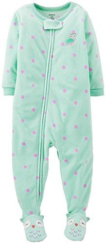 Carter'S Fleece Footie (Toddler/Kid) - Owl-2T front-807309