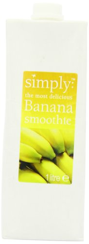 Simply Banana Smoothie 1 L (Pack of 2)