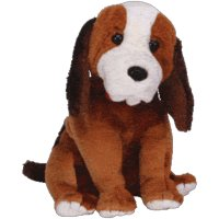 Ty Beanie Babies Holmes the Dog February 2003 Beanie of the Month [Toy] - 1