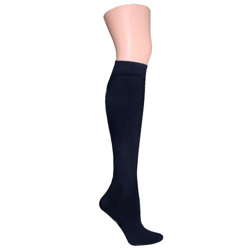 Navy Blue Knee High Trouser Socks