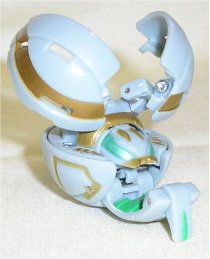 Bakugan Battle Brawlers - Loose Figure - BEE STRIKER (Haos - Grey) [Toy] - 1