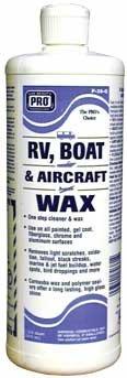 RV, BOAT & AIRCRAFT WAX