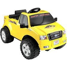 Fisher-Price Power Wheels Lil' Ford F-150 6-Volt Battery-Powered Ride-On, Yellow (Ford F 150 Fisher Price compare prices)