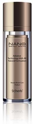 St Herb Nano Plus Breast Serum - Advanced Technology with All Natural Formulation - 30ml