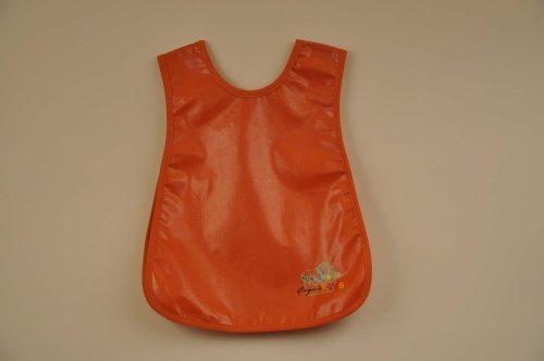 Child's Art Smock, Solid Burnt Orange Color