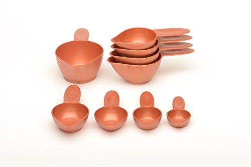 POURfect Measuring Cup Set 9pc - Satin Copper