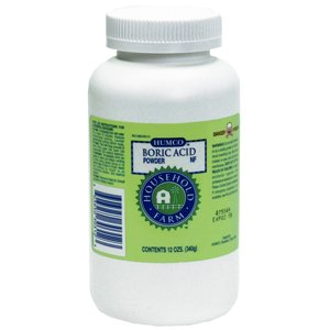 Boric Acid Powder - 12 Oz