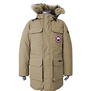 (カナダグース)CANADA GOOSE ダウンジャケット メンズCITADEL PARKA 4567M TAN [並行輸入品]