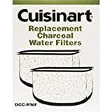 Cuisinart DCC-RWF *Triple Pack* Charcoal Water Filters; 1 Year Supply (6 total)