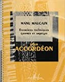 echange, troc Manu Maugain - Exercices techniques - Gammes