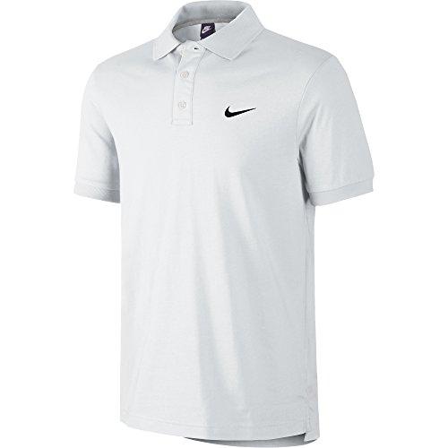 Nike Matchup-Jsy Maglia Polo, White/Black, XL